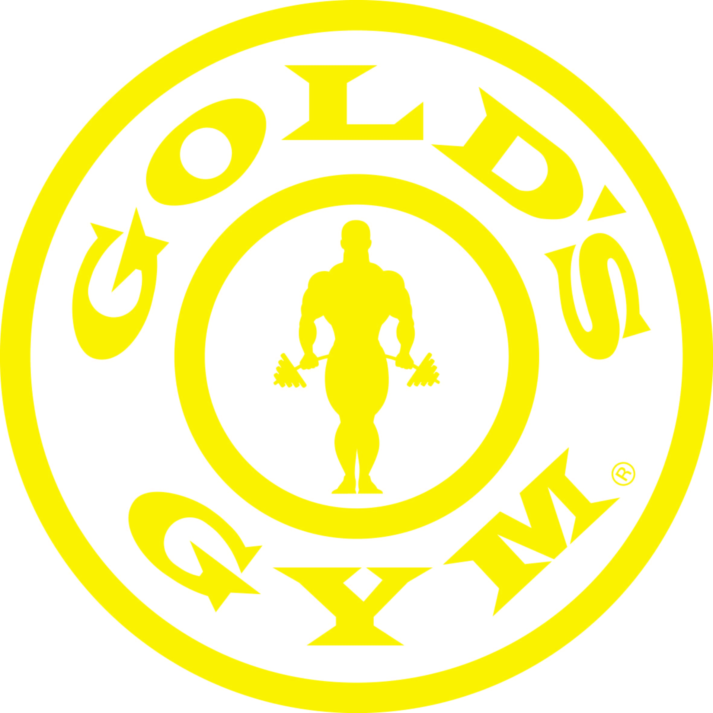 join golds gym logo - HD3941×3940