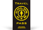 ПРОГРАММА GOLDS GYM TRAVEL PASS